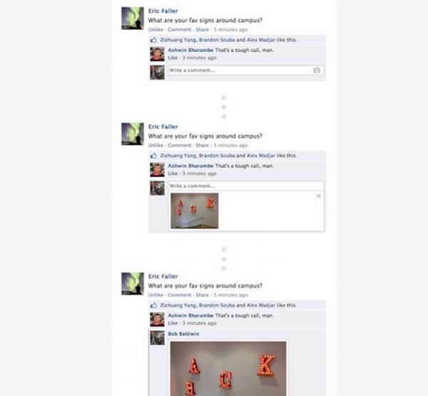 imágenes en comentarios de facebook