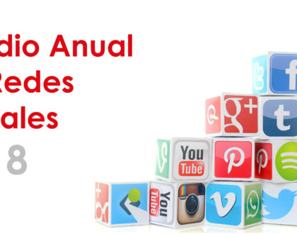 Estudio redes sociales en 2018