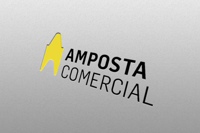 Diseño Logotipo Amposta Comercial